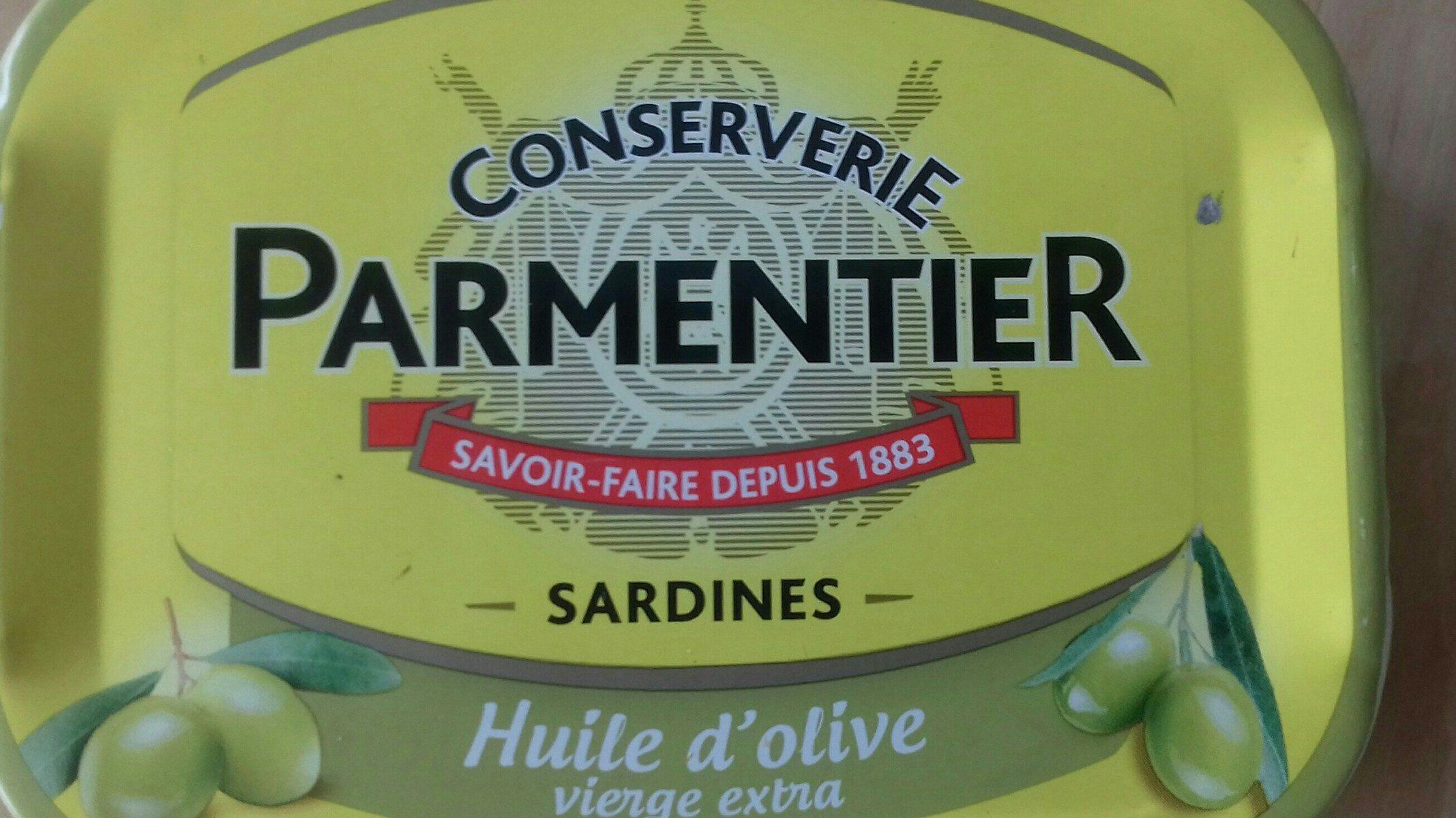 Conserverie sardines - Ingrédients