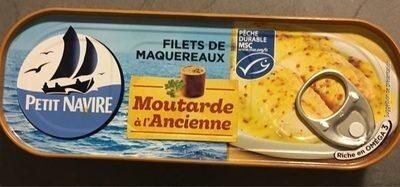 Filets de Maquereaux Moutarde à l'ancienne - Prodotto - fr