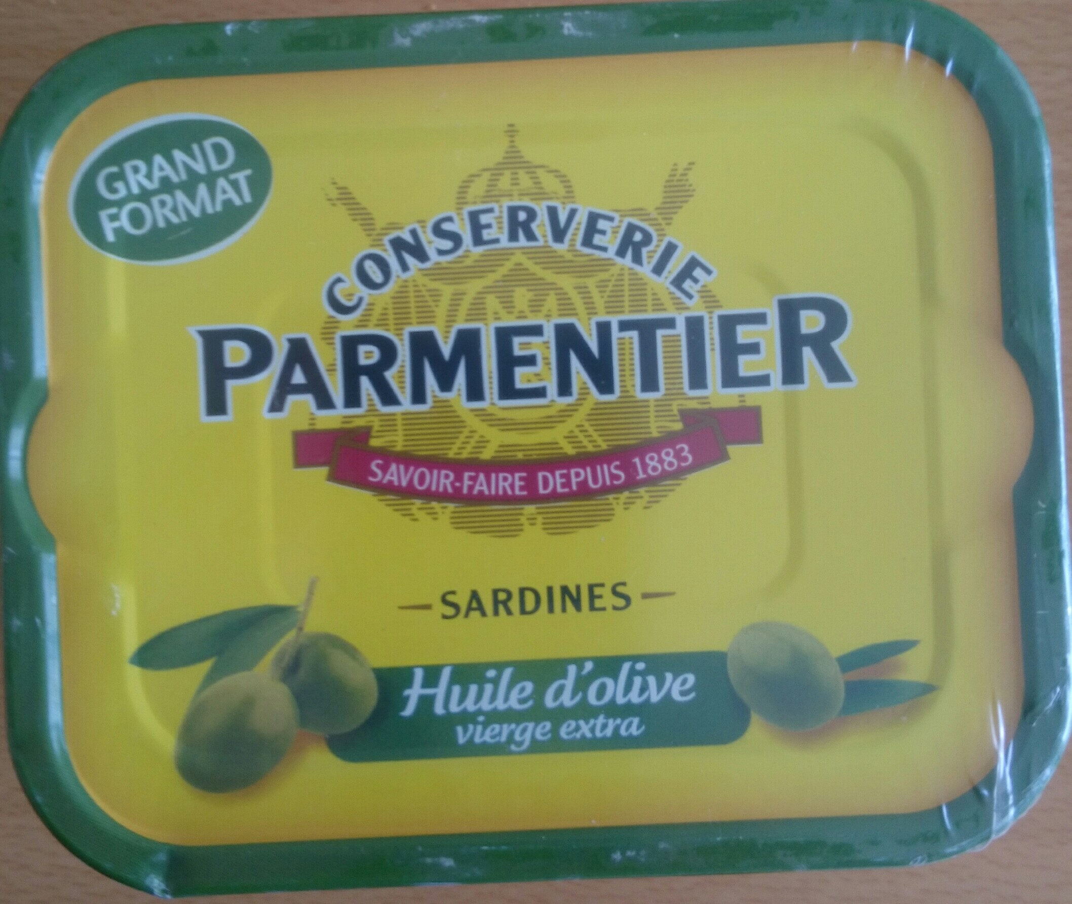 sardines huile d'olive vierge extra - Product - fr