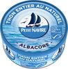 Thon entier naturel albacore MSC - Product