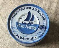 Albacore - Thon entier au naturel - 製品 - fr