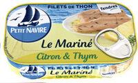 Filets de thon Citron & thym - Product - en
