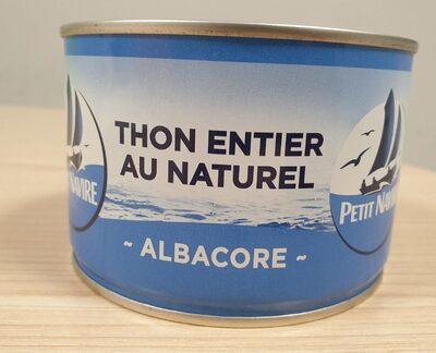 Albacore - Thon entier au naturel - Prodotto - fr