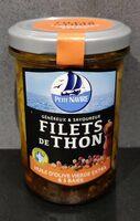 Filets de thon huile d'olive vierge extra & 5 baies - Produit - fr