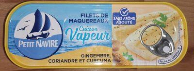 Filets de maquereaux cuisson vapeur - Produit - fr