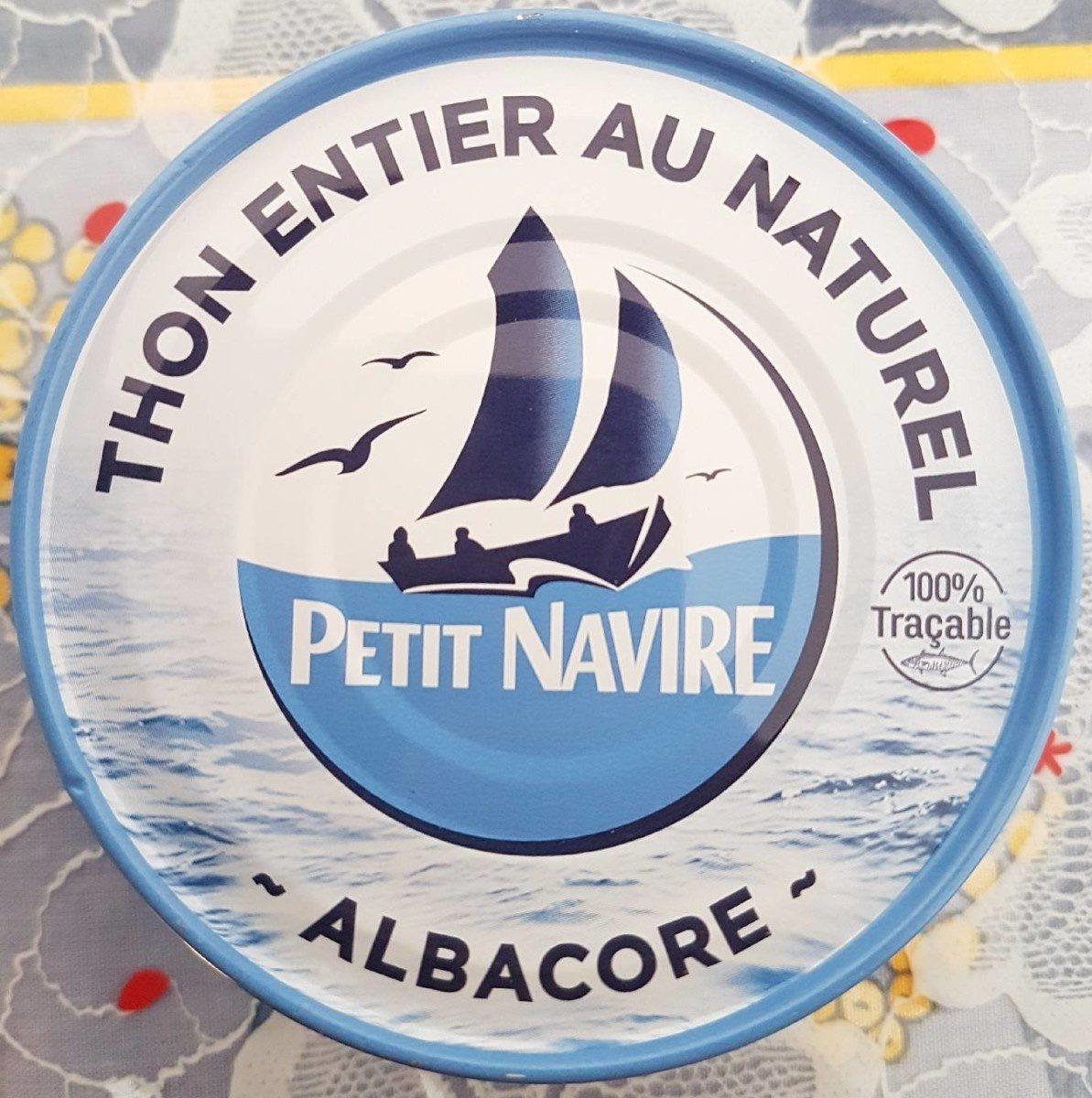 Thon entier au naturel x 4 - Product