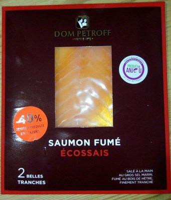 Saumon fumé écossais - Product - fr
