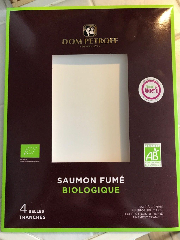 Saumon fumé Bio 4 tranches - Product