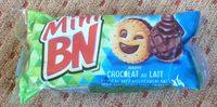 Mini-Biscuits fourrés nappés chocolat au lait - Produit