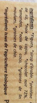 Noix de coco Recover - Ingredients