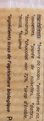 """Banane """"Caramel"""" Keto - Ingredients"""
