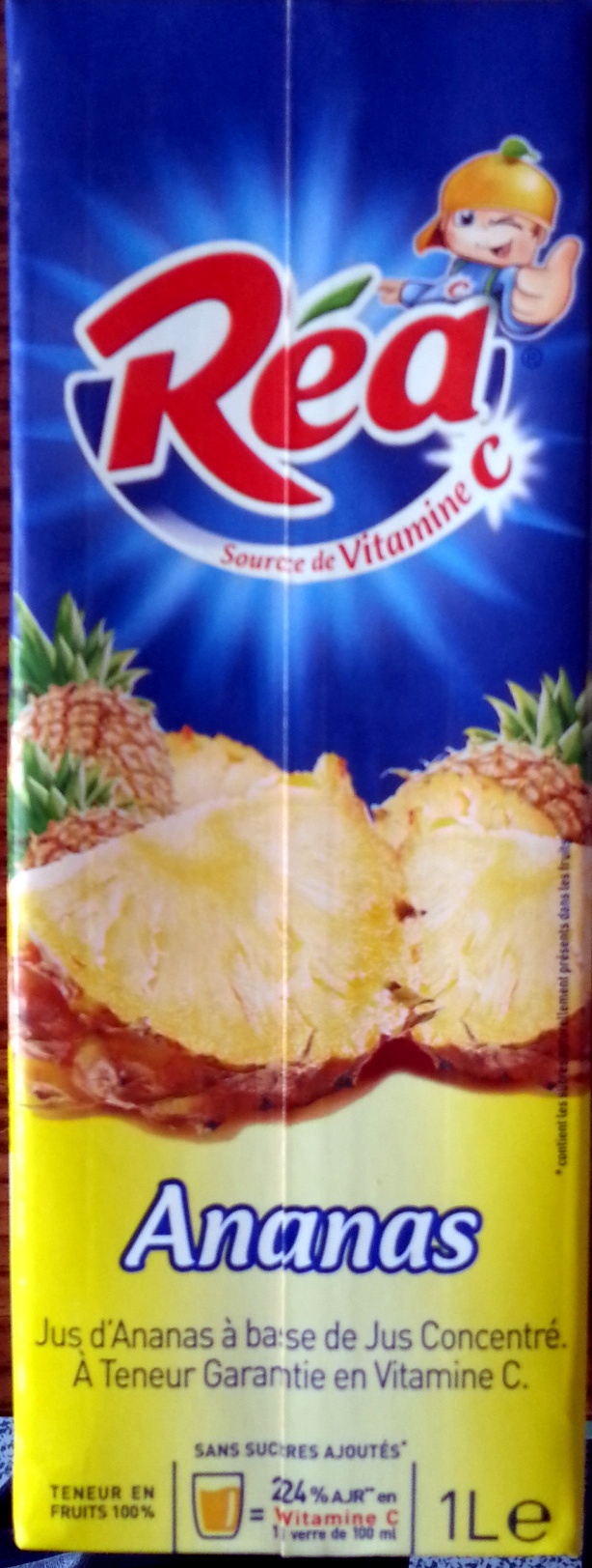 Ananas 1 litre - Réa - Producto