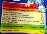 Ananas 1 litre - Réa - Información nutricional