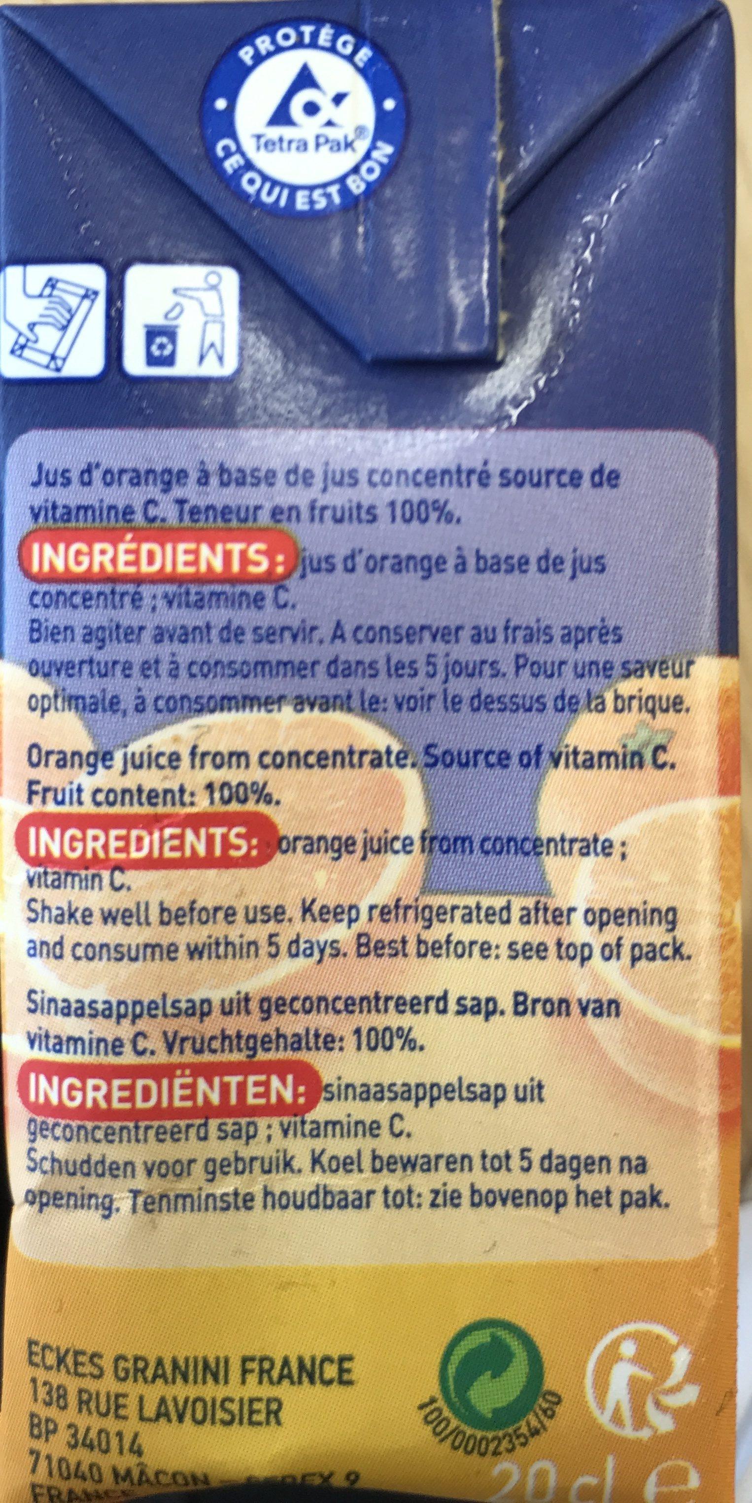 Brique Rea - Ingrediënten - fr