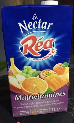 Le nectar Multivitamines - Produit - fr