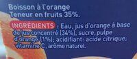 Orange - Ingredients