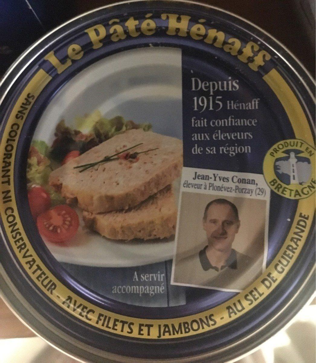 Le Pâté Hénaff, Avec filets et jambons - Produit