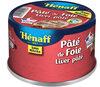 Pâté De Foie de porc Hénaff - - Produit