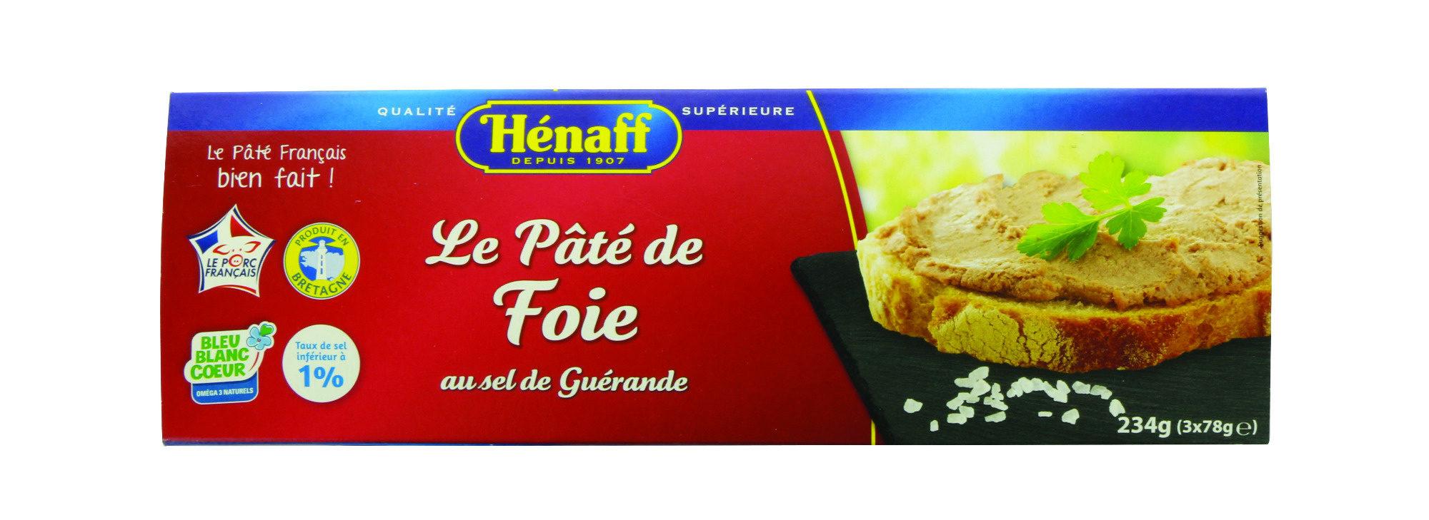 Le Pâté de Foie au sel de guerande - Product