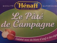 Le Pâté de Campagne - Produit