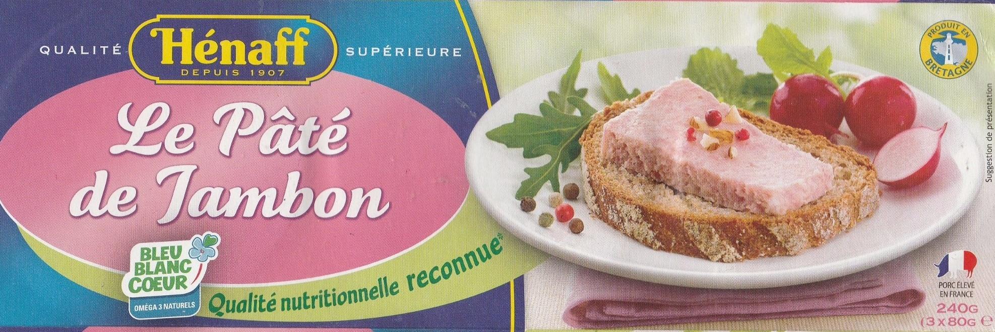 Le pâté de jambon - Produit - fr