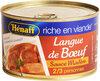 Langue De Boeuf Sauce Madère Henaff, - Product