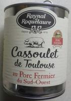 Cassoulet de Toulouse au Porc Fermier du Sud-Ouest - Produit - fr
