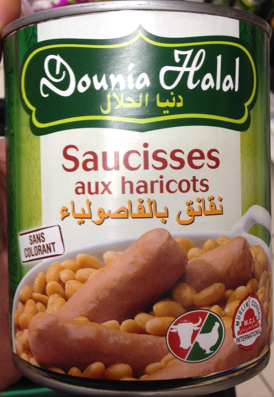 Saucisses aux haricots - Produit - fr