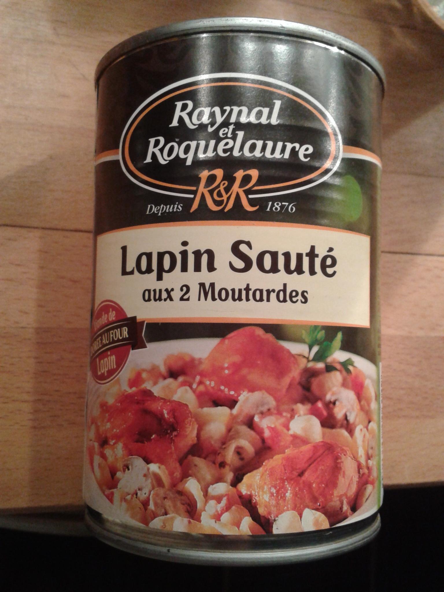 Lapin Rôti aux 2 Moutardes - Produit - fr
