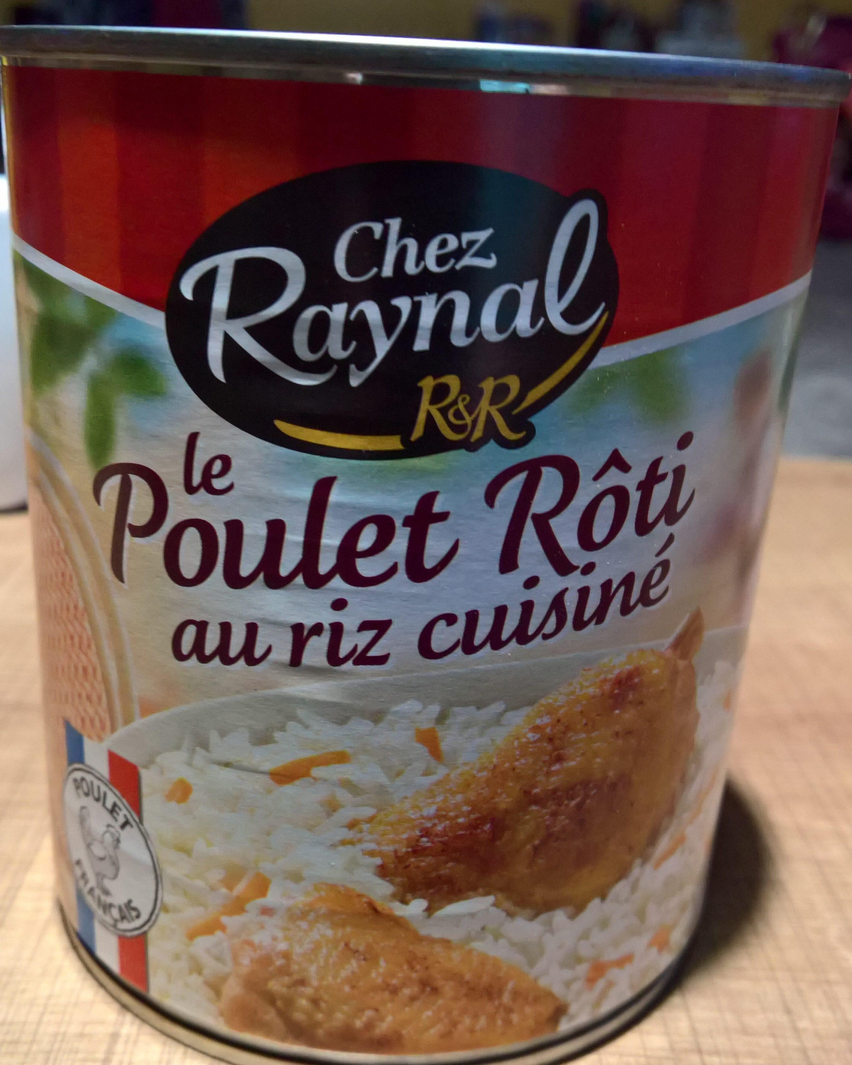 Le Poulet Rôti au Riz Cuisiné - Product - fr