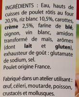 Le Poulet Rôti au Riz Cuisiné - Ingrediënten - fr