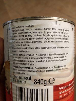 12 saucisses - Produit - fr