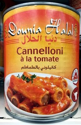 Cannelloni à la tomate - Halal - Product