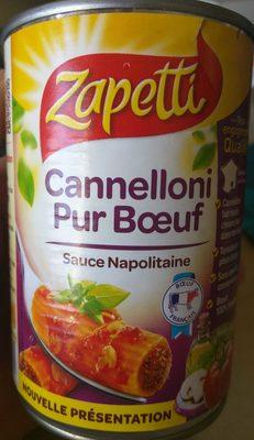 Cannelloni Pur Bœuf - Produit