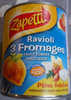 Ravioli 3 Fromages (Sauce Tomate) - Produit