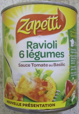 Ravioli 6 légumes recette vegetarienne - Produit - fr
