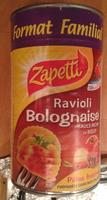Ravioli Bolognaise (Sauce Riche en Bœuf) Format Familial - Product - fr