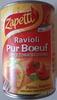 Ravioli Pur Bœuf (Sauce Tomate Cuisinée) - Produit