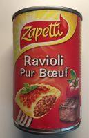 Ravioli pur boeuf - 产品 - fr
