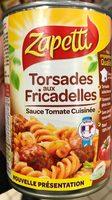 Torsades aux Fricadelles sauce tomate cuisinée - Produit - fr