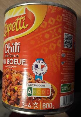 Chili con carne au bœuf - Produit - fr