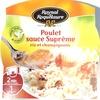 Poulet sauce Suprême riz et champignons - Product