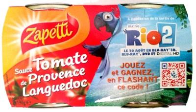 Sauce tomate de Provence Languedoc - Product - fr