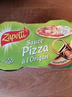 L.2X1 / 4 Sauce Pour Pizza Origan 190G Zapetti - Product