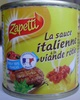 La sauce italienne à la viande rôtie - Product