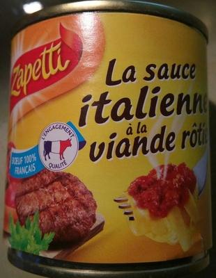 La sauce italienne à la viande rôtie - Produit