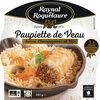 Paupiette de Veau, sauce aux champignons et Riz - Product