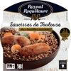 Saucisses de Toulouse aux Lentilles cuisinées - Product