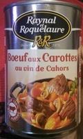 Bœuf aux Carottes Cuisiné au Vin de Cahors - Product - fr