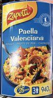 Paella Valenciana - Produit - fr